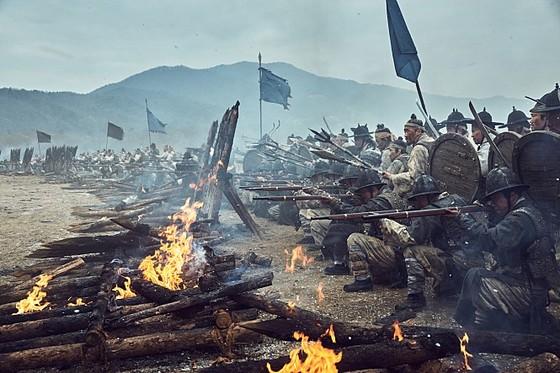 영화 '남한산성'에 나오는 조선의 조총부대
