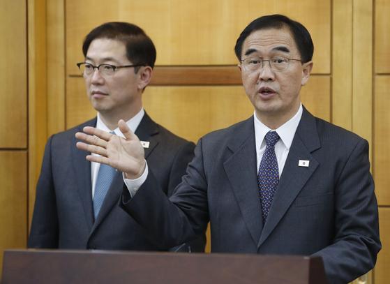 조명균 철도 공동조사 신의주·함경북도까지…유엔사와 긴밀 협의