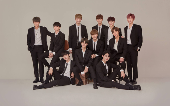 Photo from WANNA ONE Facebook
