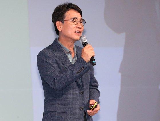 유시민 노무현재단 신임 이사장. [연합뉴스]