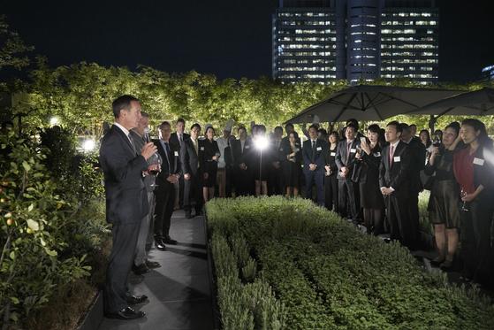 1박 2일의 방한 기간 동안 서울 내 메리어트 호텔 총지배인들과의 만남을 가졌다. [사진 메리어트 인터내셔널]