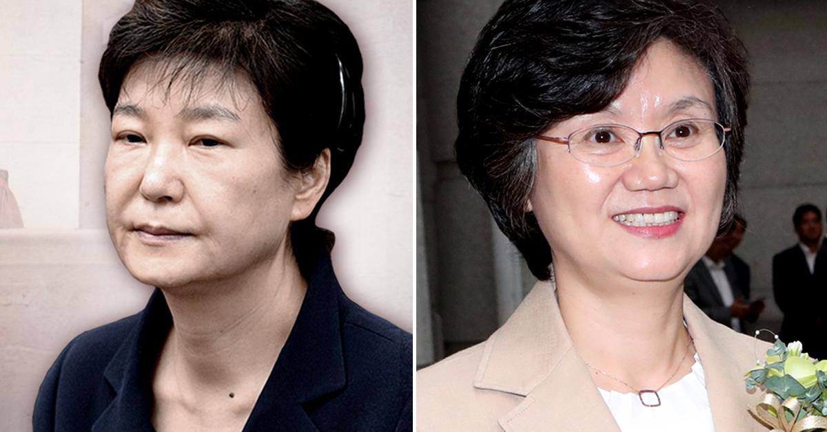 박근혜 전 대통령의 '국정농단' 항소심 주심에 노정희 신임 대법관이 배당받았다. [중앙포토, 연합뉴스]
