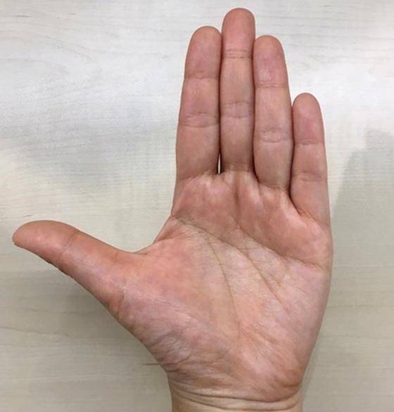 왼손 검지와 약지의 길이가 많이 차이가 나는 여성일수록 동성애자가 될 가능성이 크다는 연구결과가 나왔다. [중앙포토]