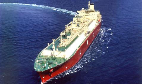 SK해운이 보유한 액화천연가스(LNG) 운반선 ''SK Splendor'호. [사진=SK해운]