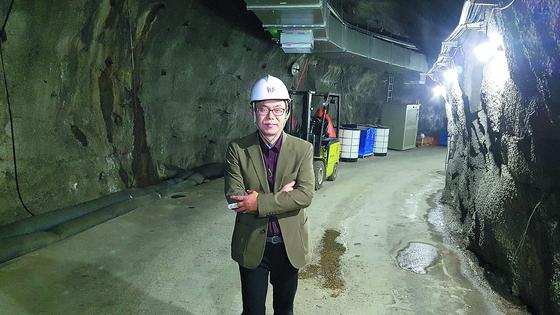 강원도 양양의 700m 지하 동굴에 있는 암흑물질 검출 실험실. [전영기 기자]