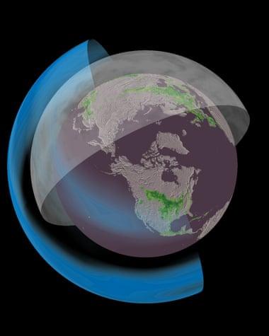 지구에 스크린을 씌워라. 태양빛을 차단하거나 반사해 온난화 피해를 줄이려는 아이디어가 기후 공학의 핵심 내용이다. [중앙포토]