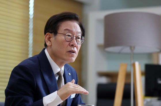 이재명 경기지사. 김상선 기자