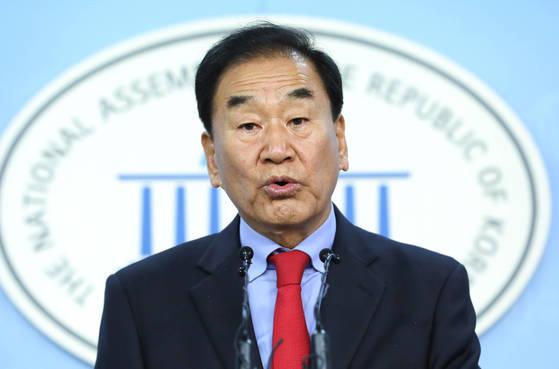 이재오 자유한국당 상임고문 [연합뉴스]