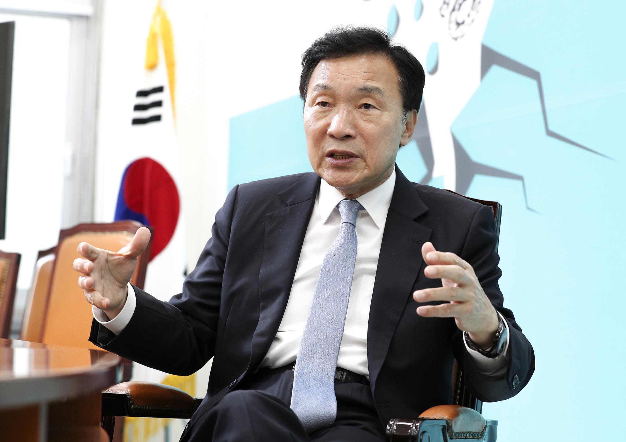 손학규 바른미래당 대표. 임현동 기자