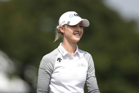 28일 끝난 LPGA 스윙잉 스커츠 타이완 챔피언십에서 우승한 넬리 코르다. [EPA=연합뉴스]