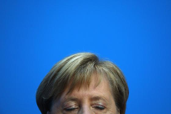 3년 후 정계 은퇴를 선언한 앙겔라 메르켈 독일 총리 [EPA=연합뉴스]