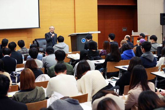 삼육대, '대한민국 1세대 철학자' 김형석 교수 초청 특강