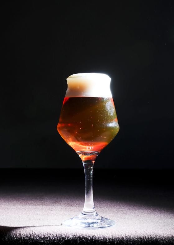 맥주를 위해 디자인 된 테쿠. 김경록 기자