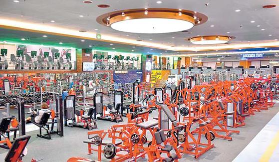 바디스타는 'Life Fitness'와 같은 세계적인 트레이닝 장비를 보유하고 있다.