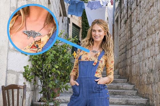 엄마 도나의 젊은 시절. 자유와 젊음의 상징과도 같은 나비 목걸이. [사진 UPI코리아]