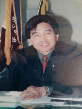 2003년 전화국장 시절. [사진 최광근]