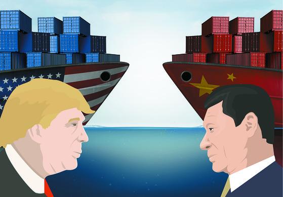 미국과 중국 간 무역전쟁이 중국내 강아지와 고양이에게까지 영향을 주고 있다. [중앙포토]