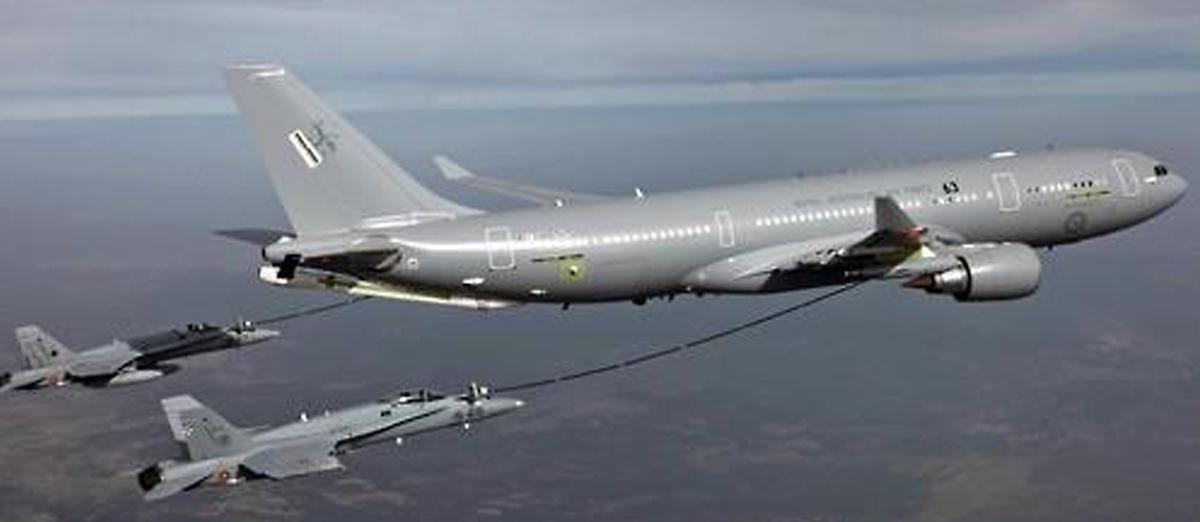 유럽 에어버스D&S의 A330 MRTT. [사진 에어버스]