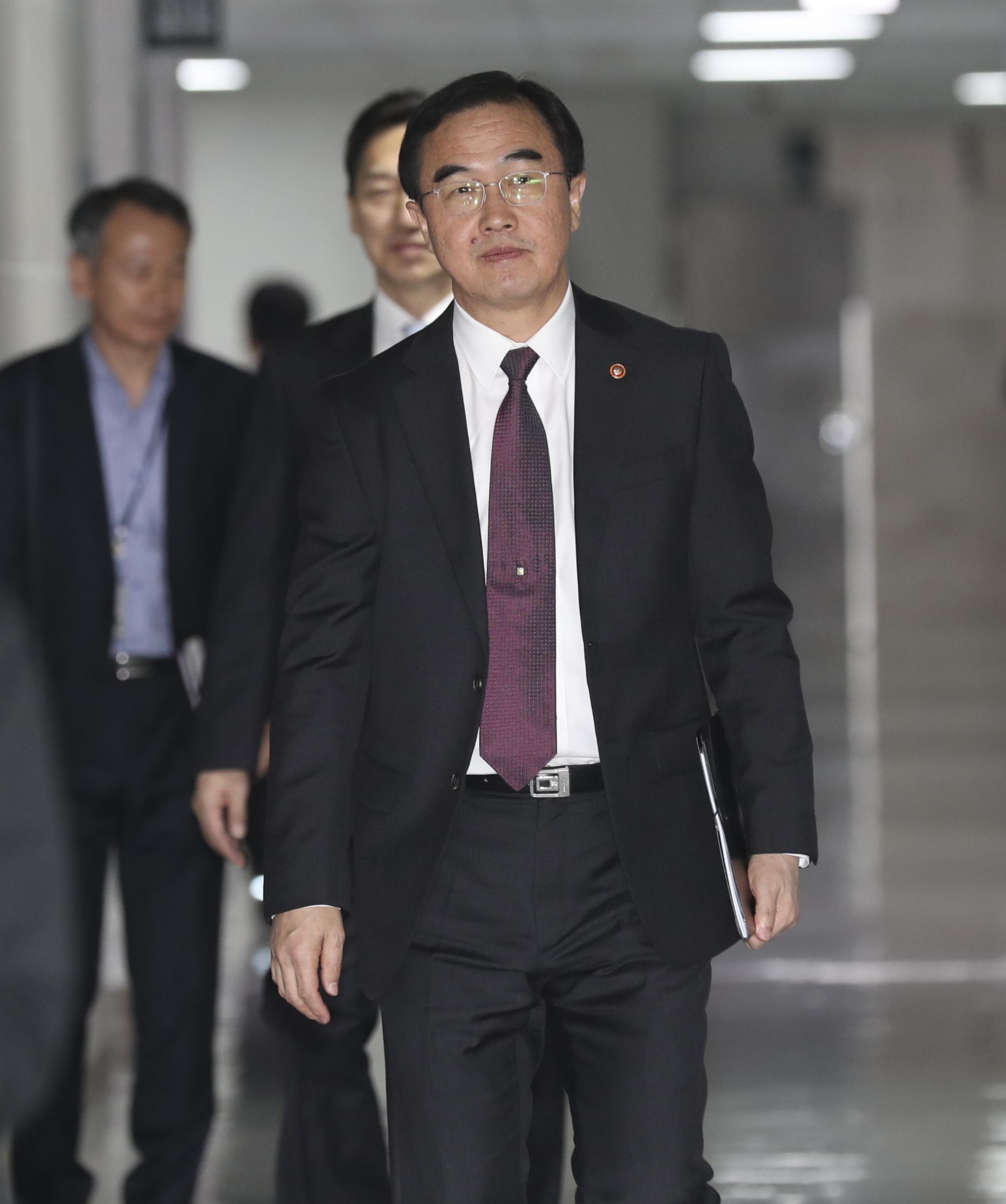 조명균 통일부 장관. 임현동 기자