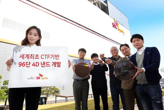 SK하이닉스, 96단 4D 낸드플래시 개발