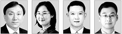 김재언, 김윤정, 강신창, 허현(왼쪽부터).
