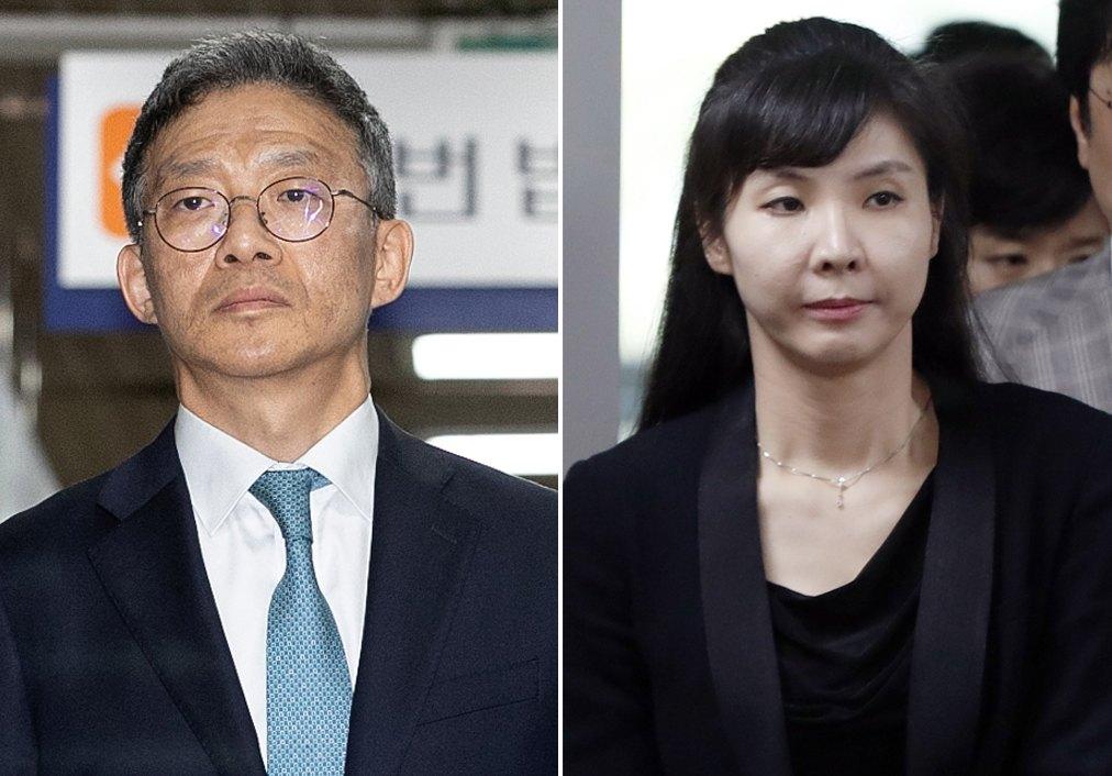 안태근 전 검찰국장(왼쪽), 서지현 검사. [뉴스1]