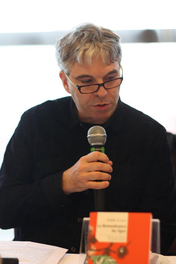 박지원의 작품을 프랑스어로 번역해 대산문학상 번역 부문 수상자로 선정된 스페판 브와 홍익대 교수.