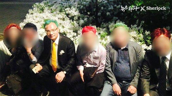 양진호 한국미래기술 회장. [사진 뉴스타파]