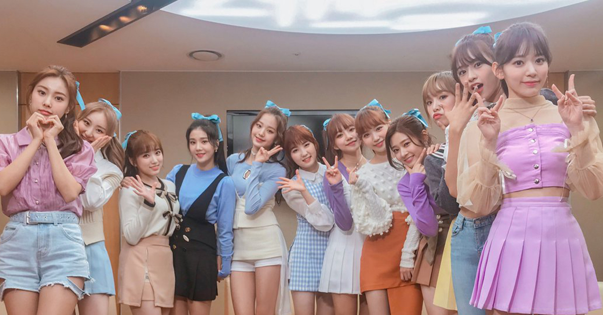 Photo from Twitter @official_izone