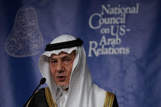정보국장과 주미 재사를 지낸 사우디의 투르키 왕자. [AFP=연합뉴스]