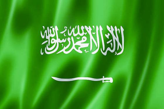 사우디아라비아 국기. [주중앙포토]