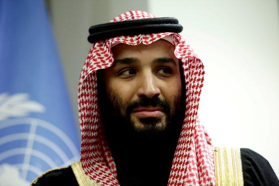 사우디 권력의 핵심인 무함마드 빈 살만 빈 압둘아지즈 알사우드 왕세자. [로이터=연합뉴스]