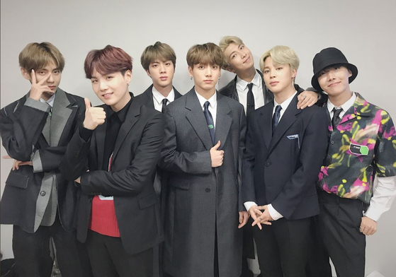 Photo from BTS Official Twitter Account