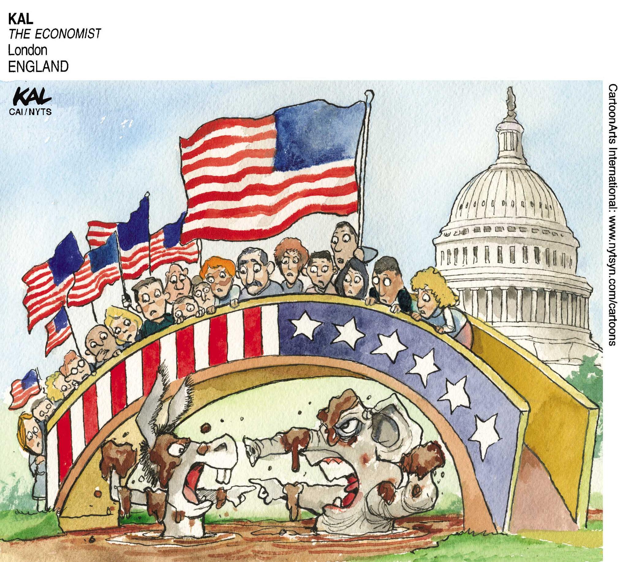 6일(현지시각) 미국 중간선거에서 공화당과 민주당이 격돌한다.