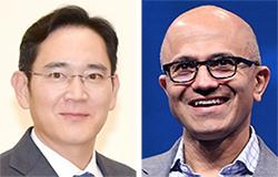 이재용 부회장, MS 나델라 CEO 회동 … AI·클라우드 협력 논의
