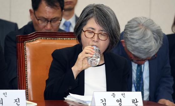 올해 대입개편 공론화위원회 위원장을 맡았던 김영란 전 대법관. 변선구 기자