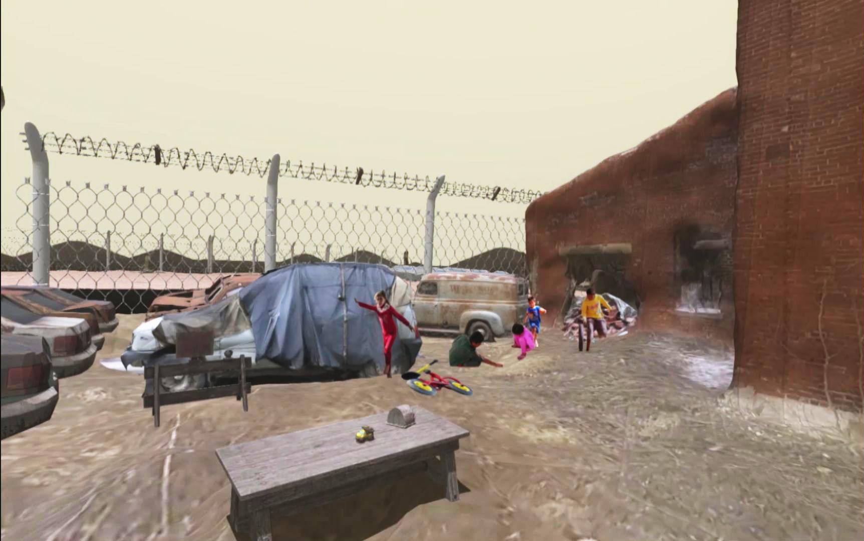 난민 캠프의 삶