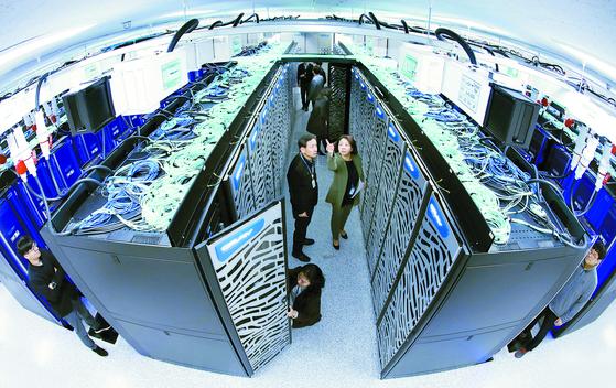 한국 슈퍼컴 10년 만에 버전업 … 성능 500단계 뛰었다