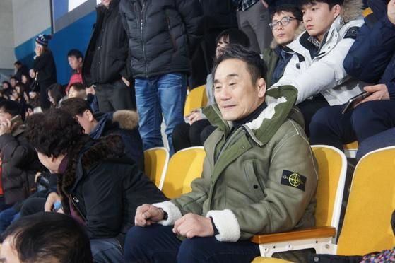 김경두 경북컬링훈련원장. [중앙포토]
