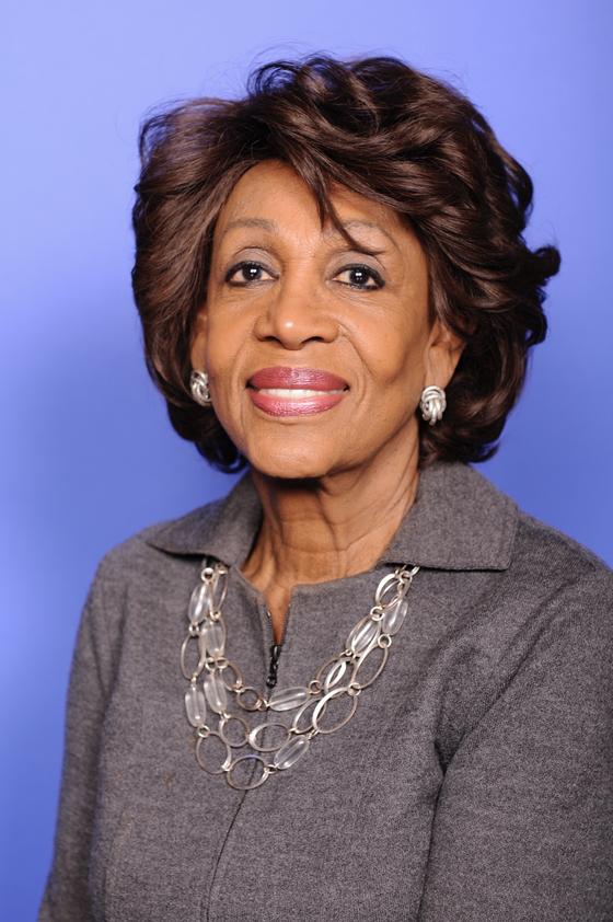 첫 여성 하원 금융서비스위원회 의장이 유력시되는 맥신 워터스(80·캘리포니아) 의원. 민주당 내 대표적인 '트럼프 저격수'다. [사진 위키피디아]