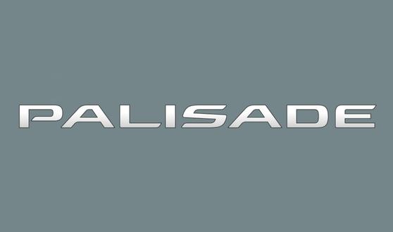 현대자동차는 9일 새 대형 스포츠유틸리티차량(SUV) 이름을 '펠리세이드'로 정했다고 밝혔다. [사진 현대자동차]