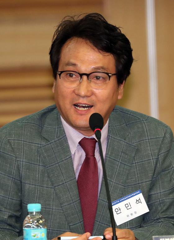 안민석 더불어민주당 남북문화체육협력 특별위원장. [뉴스1]