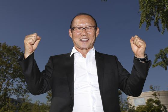 베트남축구대표팀을 이끌고 스즈키컵 우승을 노리는 박항서 감독. 임현동 기자