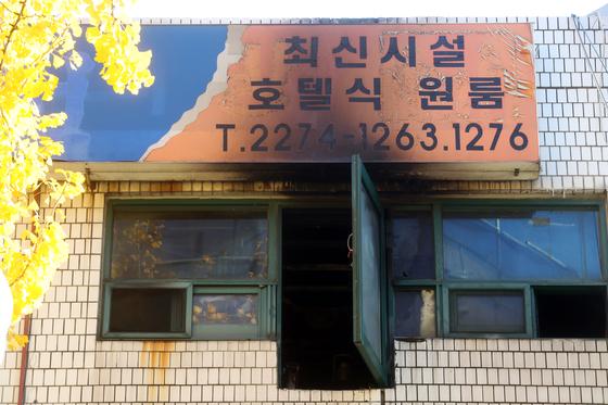 """[속보] 종로 고시원 생존자 """"301호 전열기서 발화 목격"""""""