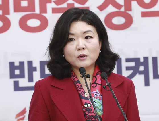 류여해 자유한국당 전 최고위원. 임현동 기자