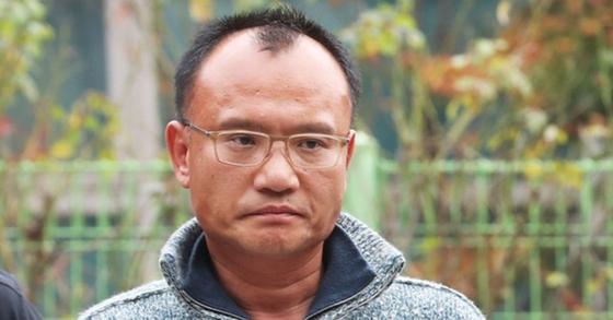 폭행과 강요 등의 혐의로 9일 구속된 양진호 한국미래기술 회장. [연합뉴스]