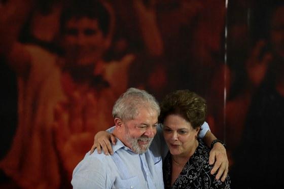 브라질의 룰라 전 대통령과 지우마 호세프 전 대통령 [EPA=연합뉴스]