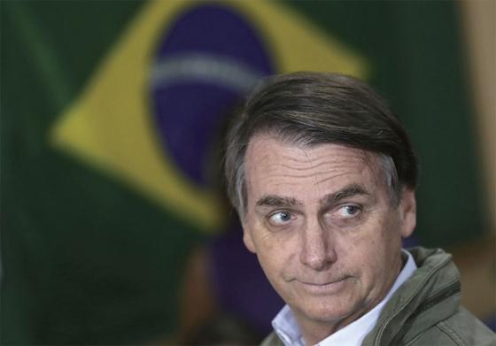 브라질 대통령에 당선된 자이르 보우소나루 [연합뉴스]
