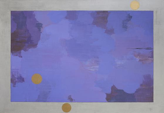 이영희, Daybreak 8, 112x162cm, Acrylic on canvas, 2018. [사진 이화익갤러리]