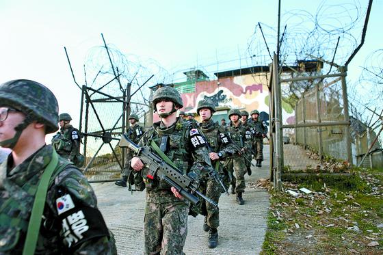 [사진] 본대로 복귀하는 GP 헌병들